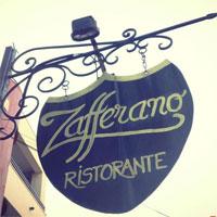 Zafferano - restaurantul italienesc cu un foisor intim