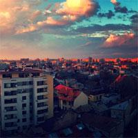 Cum s-a vazut spectacolul norilor de pe cerul Bucurestiului, in 25 de poze Instagram