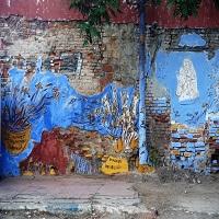 La zi pe Metropotam - Pictorul Murivale a primit amenda pentru ca a pictat un loc insalubru din Bucuresti
