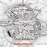 Cum ar arata harta muzicala a cartierelor din Bucuresti