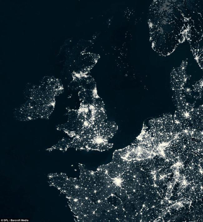Imagini Din Satelit Cu Cele Mai Luminate Tari La Zi Pe Metropotam