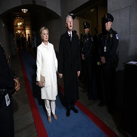 La zi pe Metropotam - Cum s-a imbracat Hillary Clinton la inaugurare