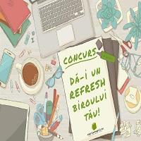 Concurs Carturesti.ro: Da-i un refresh biroului tau! (P)
