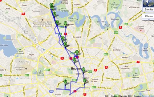 Autobuzele Bucharest City Tour Circula De La 1 Mai Utile