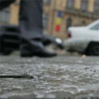 Utile - Zone din Bucuresti cu pericol de derapaj