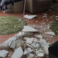 La zi pe Metropotam - Probleme in Complexul Rasarit de Soare: unui locatar i-a cazut tavanul