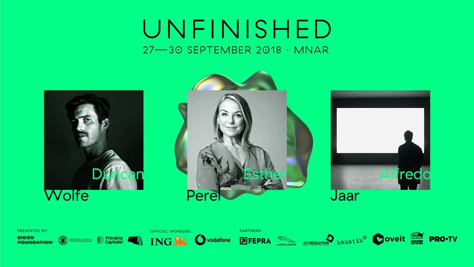 Unfinished Festival 2018 începe pe 27 septembrie
