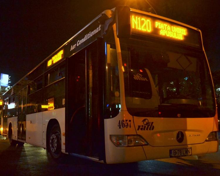 O noua linie RATB de noapte - N124