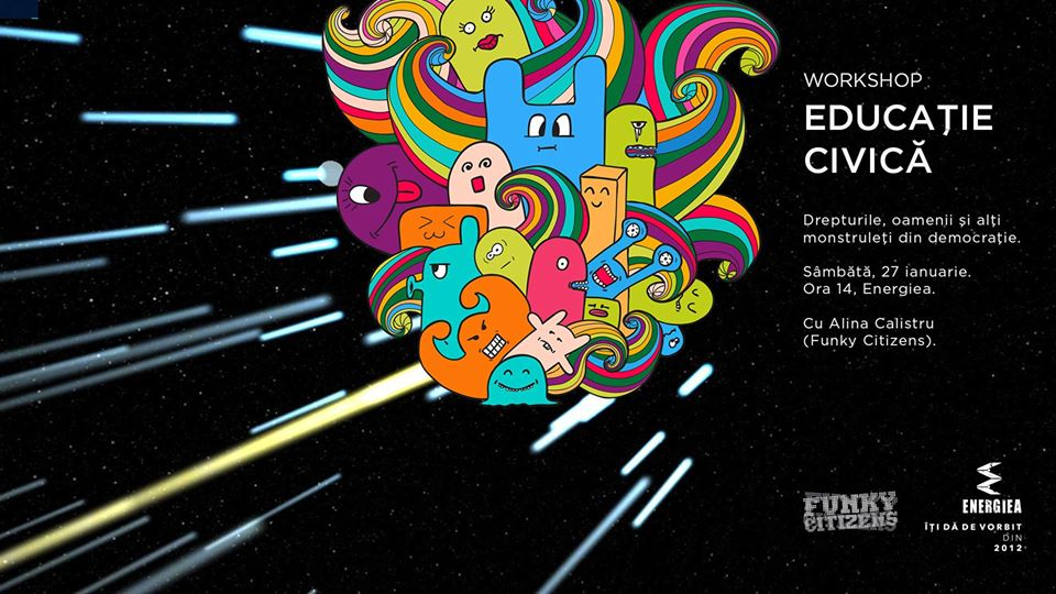La zi pe Metropotam - Educație civică pentru copii - Energiea x Funky Citizens