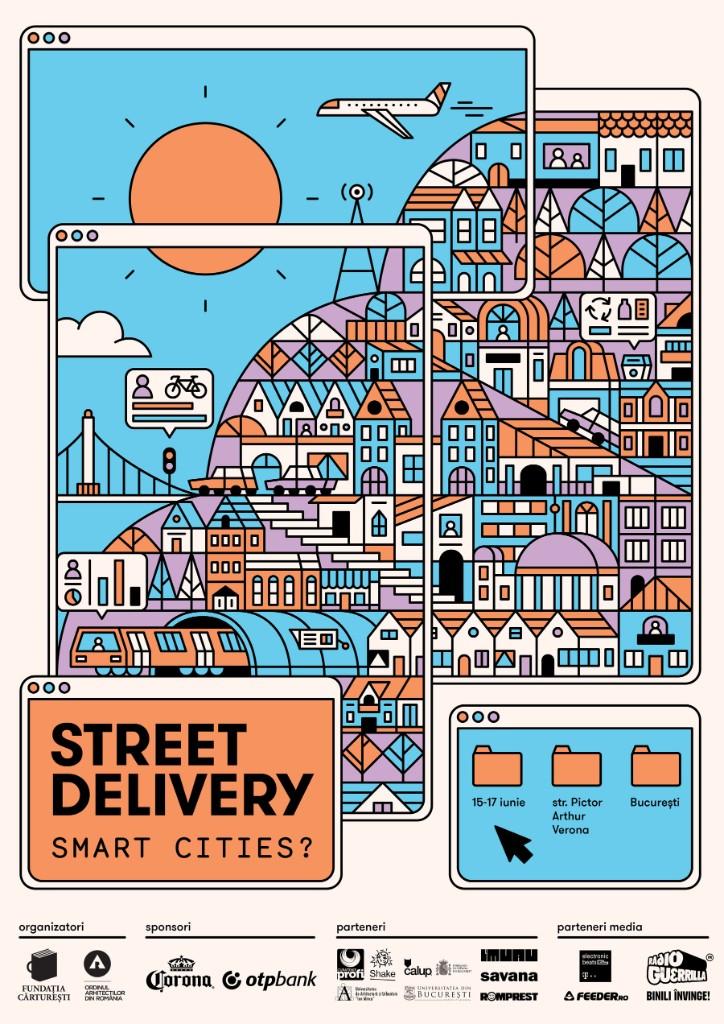 "La zi pe Metropotam - Street Delivery vorbește despre ""Smart Cities?"" la a 13-a ediție"