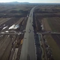 De Craciun vom putea circula pe o autostrada noua