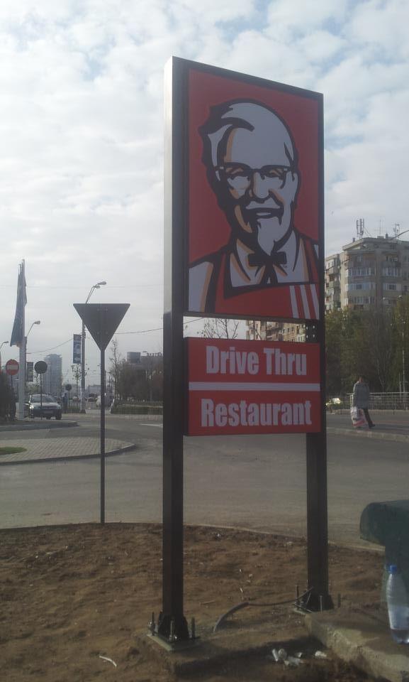 KFC deschide primul drive-thru din Bucuresti