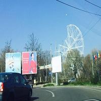 O roata imensa panoramica se construieste in parcul Tei - Plumbuita - povestea ei, dar si a celui mai modern parc de agrement din Bucuresti