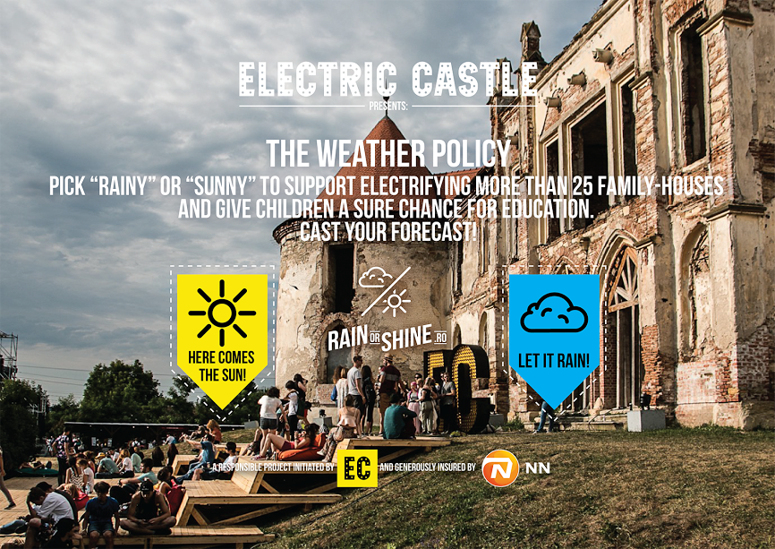Weather Policy- poliția de vreme faină la Electric Castle