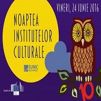 La zi pe Metropotam - Ce se intampla diseara la Noaptea Institutelor Culturale