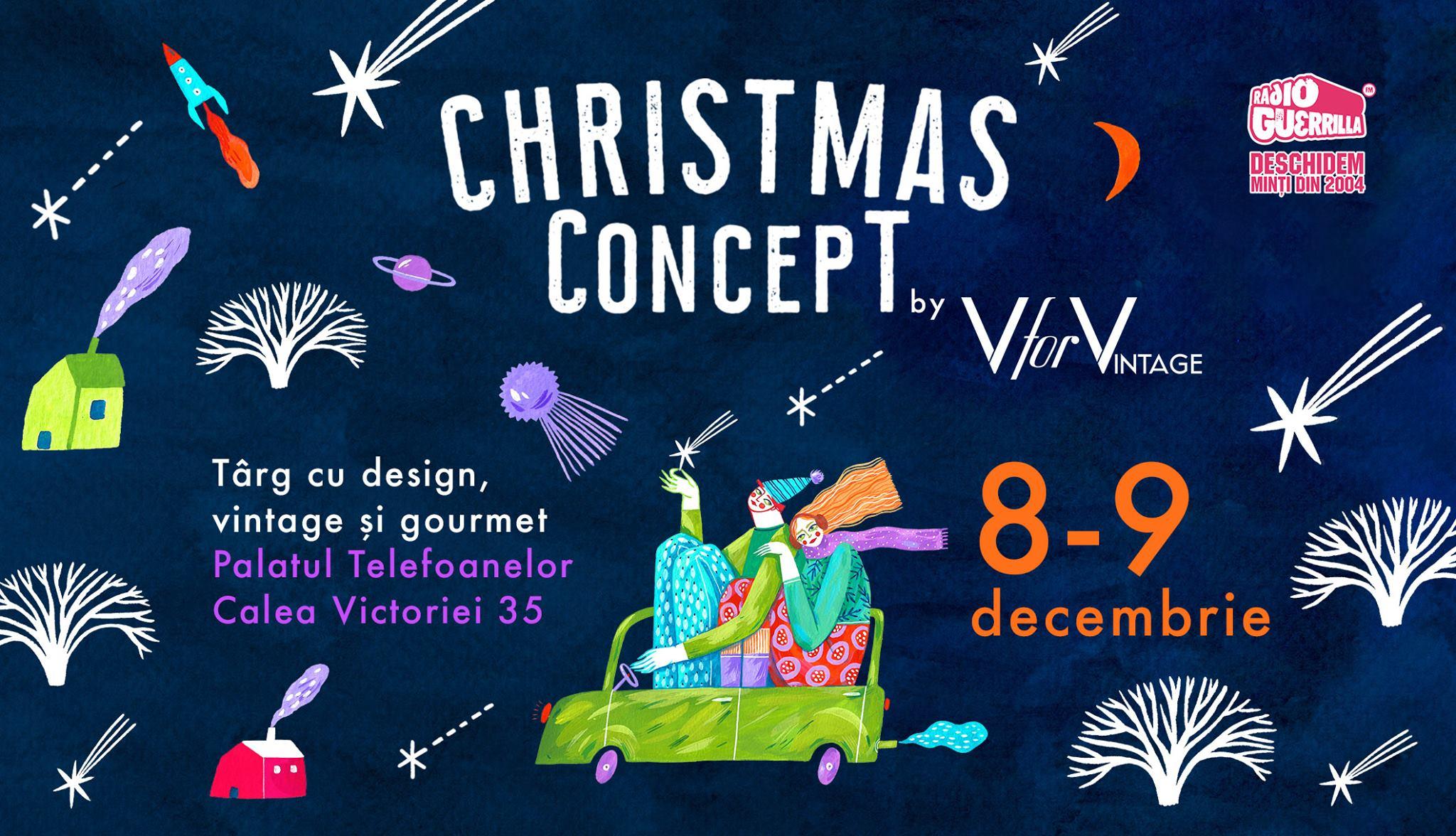 Christmas Concept - targ cu design, vintage si gourmet