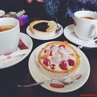 Cronici Cafenele din Bucuresti, Romania - Brioche Dorée, cafeneaua de la Victoriei plina de bunatati frantuzesti care merita incercate