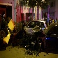 La zi pe Metropotam - Un sofer beat a distrus cinci masini parcate pe Calea Grivitei