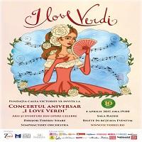 "La zi pe Metropotam - Concert Aniversar ""I Love VERDI"": Arii si uverturi din opere celebre"