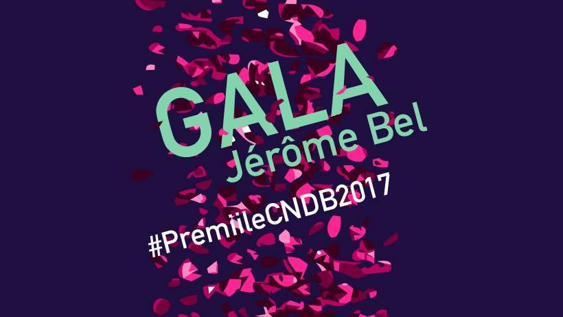 Premiile CNDB 2017 şi spectacolul GALA de Jérôme Bel