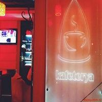 Cronici Cafenele din Bucuresti, Romania - Kafeterya Cafe - o cafenea-restaurant cu specific turcesc pe de Schitu Magureanu