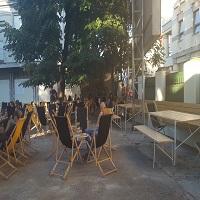 Cronici Terase din Romania - Spatiul M60 - sezlonguri si relaxare in mijlocul orasului