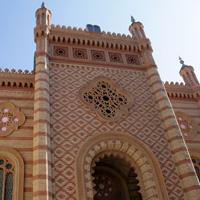 Locuri de vizitat - I <3 Bucuresti: Templul Coral - frumosul castel de nisip din Mahalaua Stelei