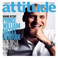 """La zi pe Metropotam - Prinţul William apare pe coperta din iulie a revistei gay """"Attitude"""""""