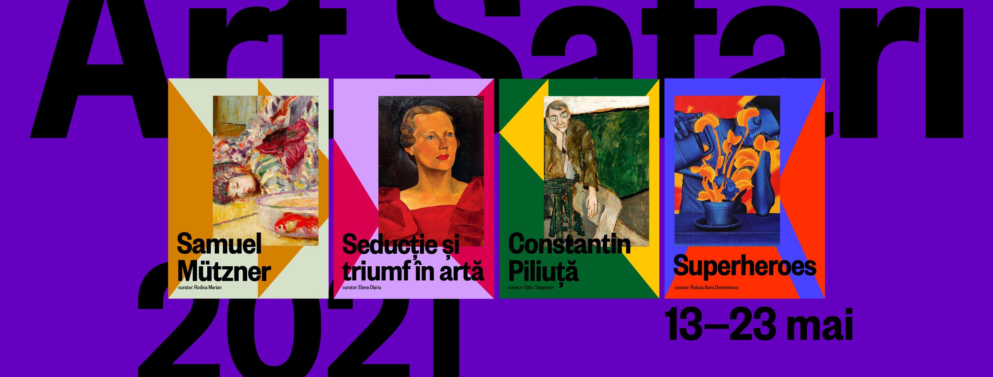 Art Safari va avea loc între 13-23 mai 2021