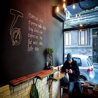 Cronici Cafenele din Bucuresti, Romania - T-Zero, coffee shopul de pe Dianei perfect pentru dimineti frumoase