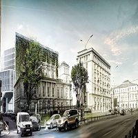 Utile - Mall-ul care urmeaza sa se construiasca langa Palatul Stirbei din Bucuresti este anchetat de DNA