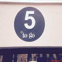 Unde Iesim in Oras? - 5 to go - cafeneaua cool de pe Lahovari unde toate produsele costa 5 lei