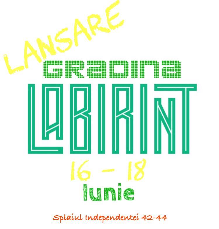 Pe 16 iunie se lanseaza Grădina Labirint