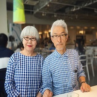 La zi pe Metropotam - O noua obsesie cool de pe net - cuplul din Japonia care se imbraca asortat