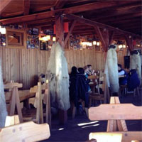 Cronici Restaurante din Romania - La Ceanu' Crapat , cota 2000 - locul cu priveliste minunata unde mananci la inaltime