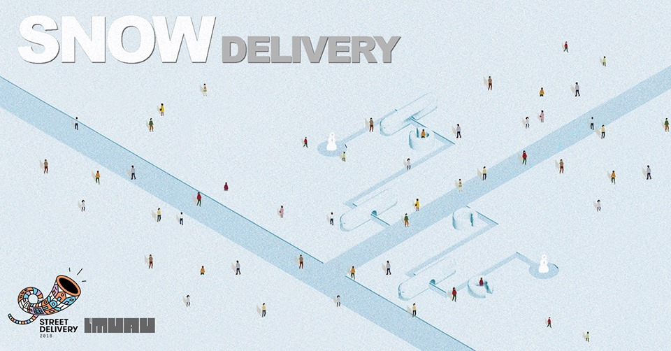 Unde Iesim in Oras? - Snow Delivery în Parcul Circului