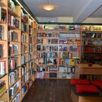 Cronici Cafenele din Bucuresti, Romania - Anthony Frost din Bucuresti, cea mai buna librarie din lume